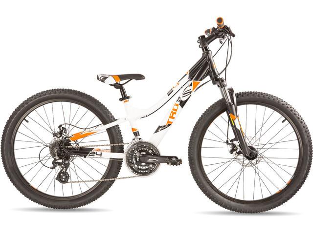 s'cool troX pro 24 24-S - Vélo enfant - blanc/noir